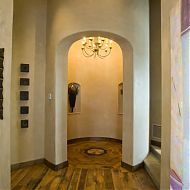 Wood Floor and Plaster